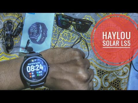 Haylou Solar Ls5 unboxing hands on review