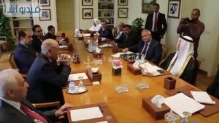 بالفيديو : الامين العام لجامعة الدول العربية يلتقى برئيس محكمة الاستثمار العربية عصام السداني