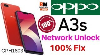 How To Network Unlock Oppo A3S