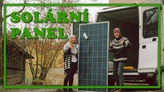 Přestavba dodávky [7] Solární panel - montáž na střechu obytné dodávky