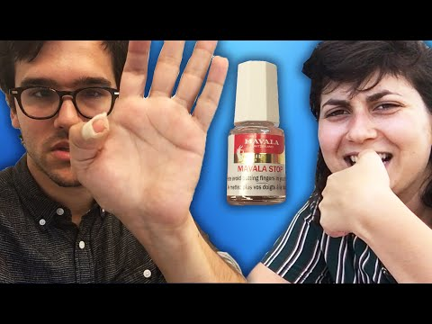 Thumbnail: Nail-Biters Try To Stop Biting Their Nails For A Week