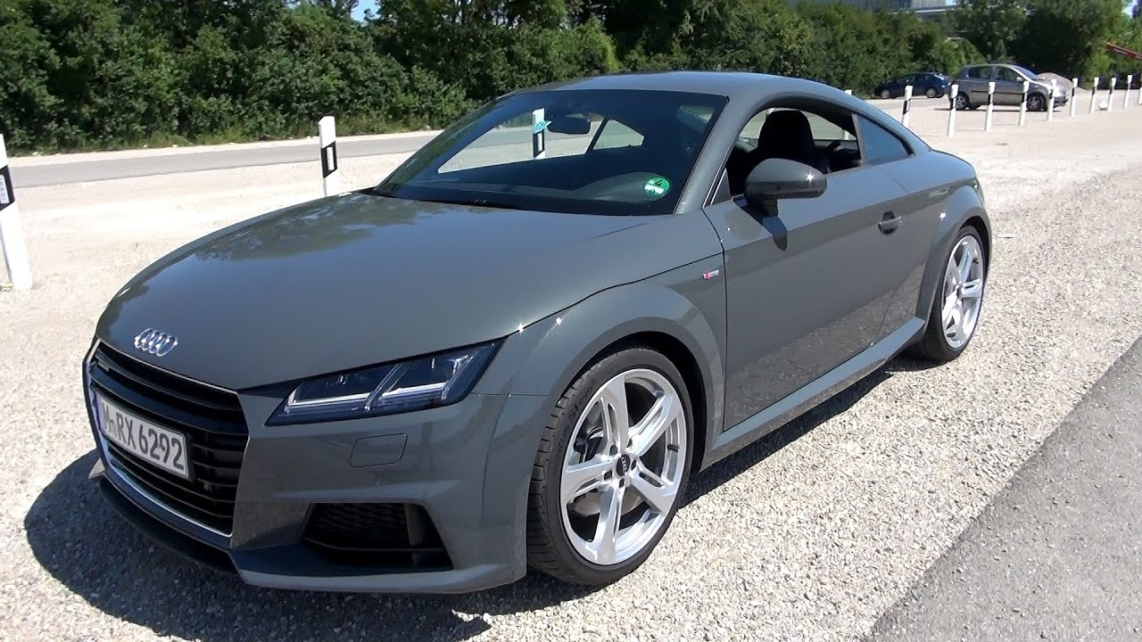 2015 audi tt 2.0 tfsi quattro (230 hp) test drive - youtube