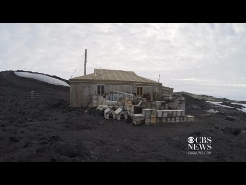 Shackleton's Antarctic expedition huts restored