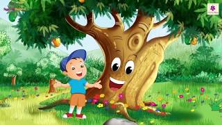Trees Rhyme | Animated Learning Songs For Children | Periwinkle