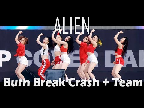 ALiEN | 에일리언 댄스 스튜디오 | Burn Break Crash + Team @ 서울광장 Filmed by lEtudel