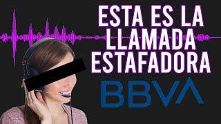 Así es la LLAMADA ESTAFADORA | FRAUDE en nombre de BBVA BANCOMER