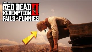Red Dead Redemption 2 - Fails & Funnies #33