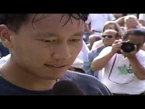Michael Chang vs Andre Agassi - US Open Semi-Final Match 1996