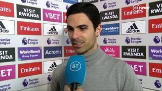 Delighted Arteta thanks fans after first win as Arsenal boss