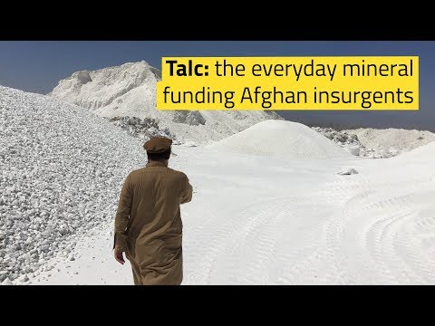 Talc: the everyday mineral funding Afghan insurgents