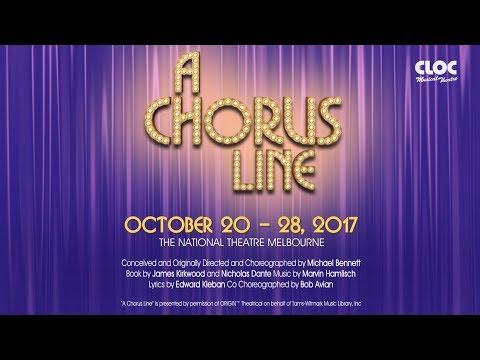 A Chorus Line - October 2017 - CLOC Musical Theatre