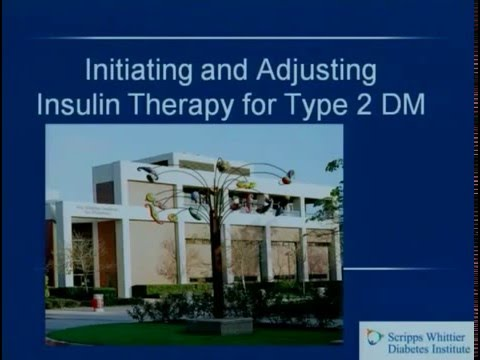 Initiating and Adjusting Insulin Therapy for Type 2 DM   YouTube