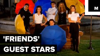Here Are 5 Celebrities You Probably Forgot Guest-Starred on 'Friends' thumbnail