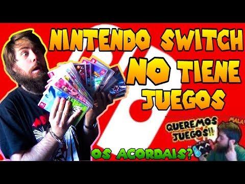 Nintendo Switch NO tiene Juegos ¿Os Acordáis? | Uno de los mejores Inicios de la Historia