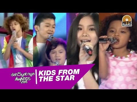 Kids From The Star live DahSyat Awards 2015