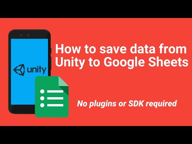 How to save data to Google Spreadsheet from Unity 3D (No SDK