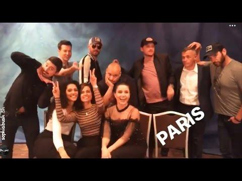 Chicago Convention in Paris Sophia Bush, Jesse Lee, Patrick Flueger and Marina Squerciati | May 19