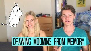 DRAWING MOOMINS FROM MEMORY