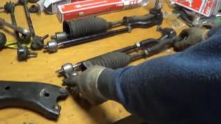 Рулевые тяги - что это? Стоит ли откладывать с ремонтом?
