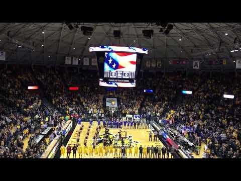 National Anthem at Charles Koch Arena