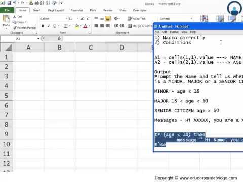 visual basic excel tutorial pdf