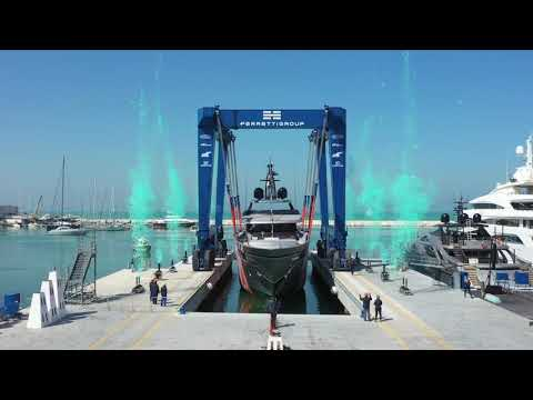Luxury SuperYacht - Riva Yacht 50m M/Y Race - Launch - Ferretti Group America