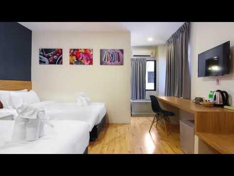 D Varee Xpress Pula Silom, Bangkok  || Hotels In Bangkok || BANG RAK