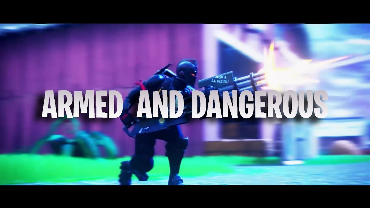 Armed And Dangerous - FREE Fortnite Intro Template (link in desc ) - Deknot