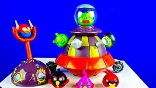Angry Birds Space Toy that Moves - Cool!