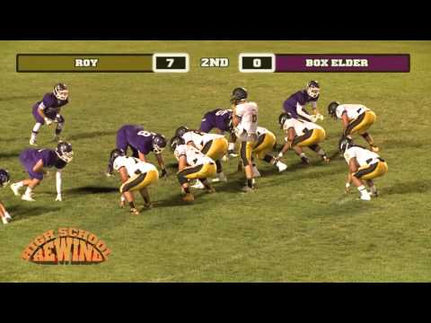 High School Rewind - Roy @ Box Elder (Football) {9-26-14}