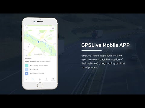 GPSLive - Telematics & GPS Vehicle Tracking APP