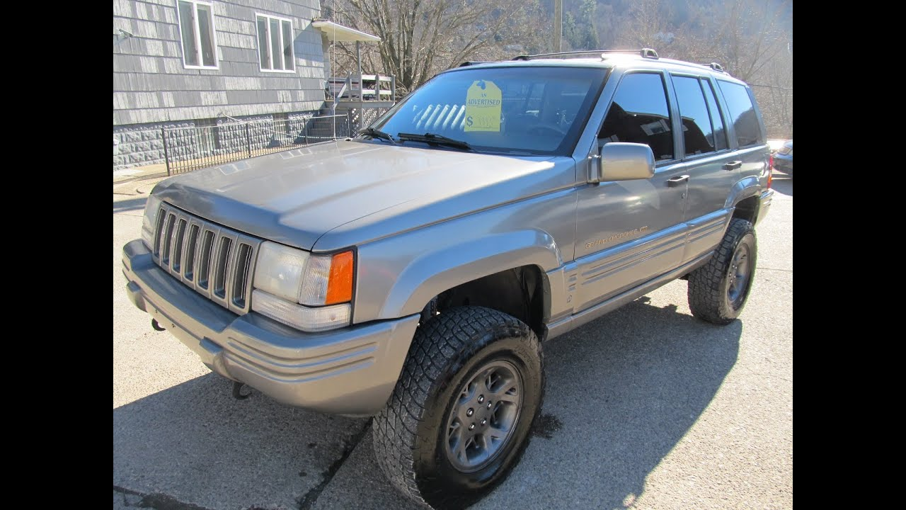 Lifted Jeep Cherokee >> 1996 Jeep Grand Cherokee LIFTED 4x4 Elite Auto Outlet Bridgeport Ohio - YouTube