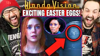 WANDAVISION EPISODE 7 EASTER EGGS & BREAKDOWN - REACTION! (1x7 Details You Missed | Agatha Harkness)