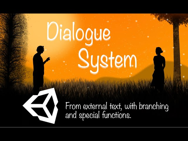DIALOGUE SYSTEM UNITY TUTORIAL #1