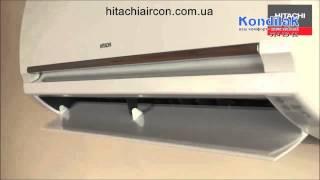 Смотреть видео кондиционер Hitachi RAS-08PH1