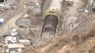 Ovit Tüneli İnşaatı Havadan Görüntülendi