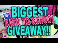 BIGGEST BACK TO SCHOOL GIVEAWAY 2017-2018!! (CLOSED!) ♡ Fayy Lenee Beauty