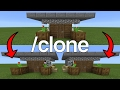 How to use the clone command in minecraft pe | mcpe journalist android