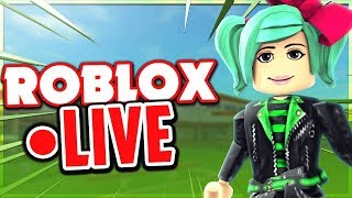 Roblox LIVE Playing Featured Games! SallyGreenGamer