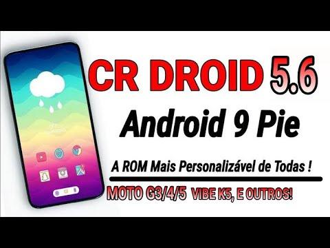 REVIEW! CrDroid V5 2  Android 9 0 Pie  Muita Personalização  Muita