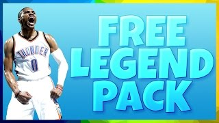 FREE LEGENDARY PACK TUTORIAL | PULLED STEPHEN CURRY | NBA LIVE MOBILE!