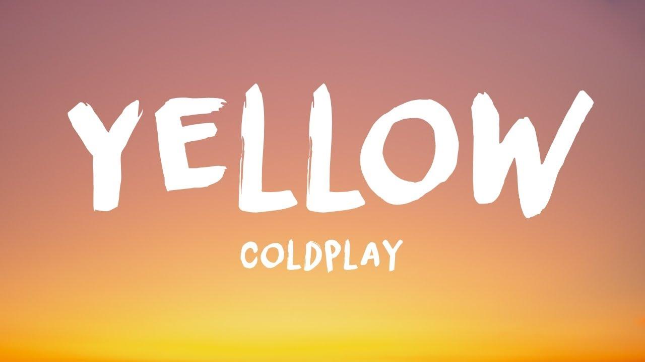 Coldplay — Yellow (BRGR LoFi Remix) // Lyrics