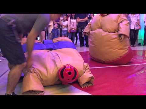 Sumo match 3-2 aeon mall long bien