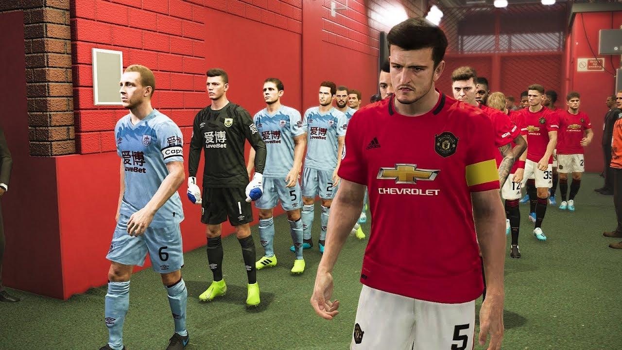 Manchester United vs Burnley - Premier League 2020 ...