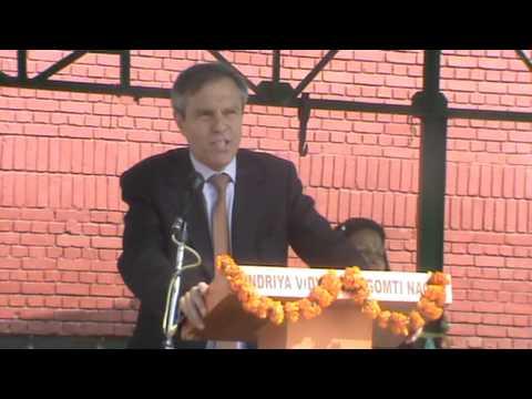 Addressing by German Ambassador Mr. Michael Steiner