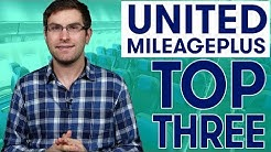 Top Three Ways to Redeem Your United MileagePlus Miles | To The Point | Ep 20