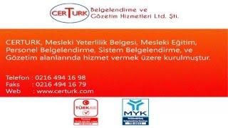 MESLEKİ YETERLİLİK BELGESİ NEDİR? www.certurk.com