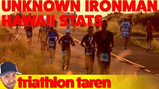 The are the stats only provided to media for the Ironman World Cham...