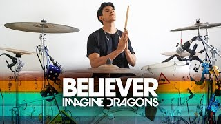 BELIEVER - Imagine Dragons | Alejandro Drum Cover *Batería*