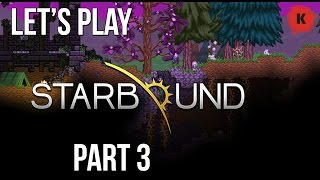 LET'S PLAY: Starbound - This GIANT Hammer Is RUBBISH! Episode 3
